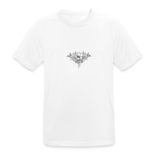 Floral Bloom - Men's Breathable T-Shirt