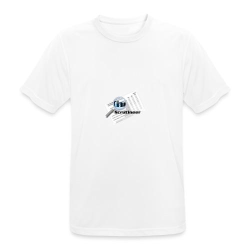 The scrutineer logo - Men's Breathable T-Shirt