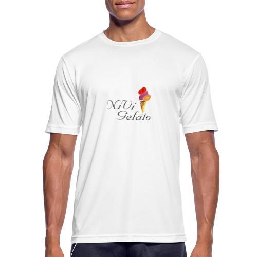 Nivi Gelato - Herre T-shirt svedtransporterende