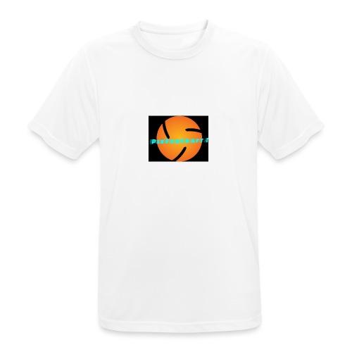 LOGO PixForCraft (Le logo de Juin 2017) - T-shirt respirant Homme