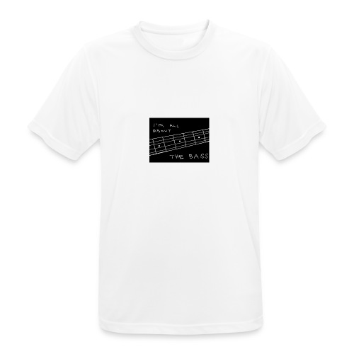 I M ALL ABOUT THE BASS - Men's Breathable T-Shirt
