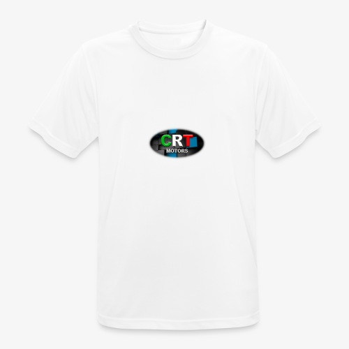 CRT Logo - Men's Breathable T-Shirt