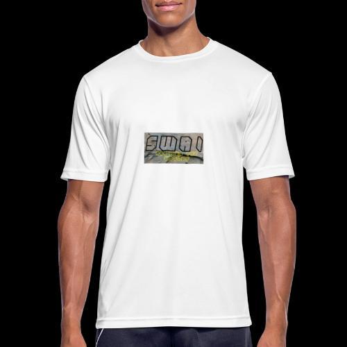 swai stoned boxlogo - Männer T-Shirt atmungsaktiv