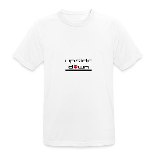 UpSideDown - mannen T-shirt ademend