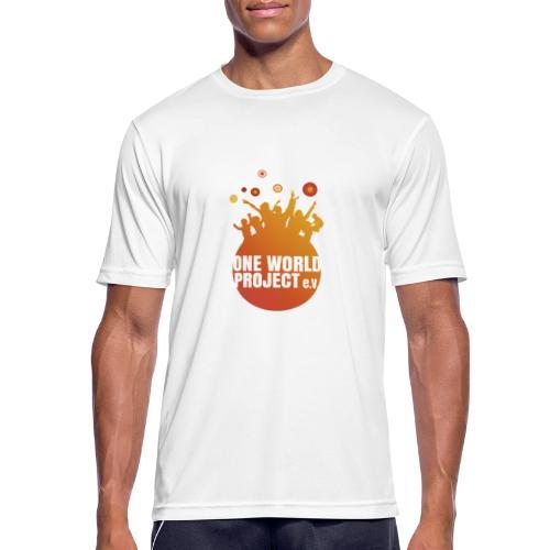 One World Project e. V. - Logo - Männer T-Shirt atmungsaktiv