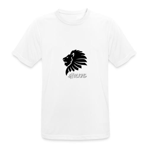 Gymlions T-Shirt - Männer T-Shirt atmungsaktiv