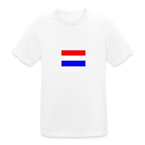 vlag nl - Mannen T-shirt ademend actief