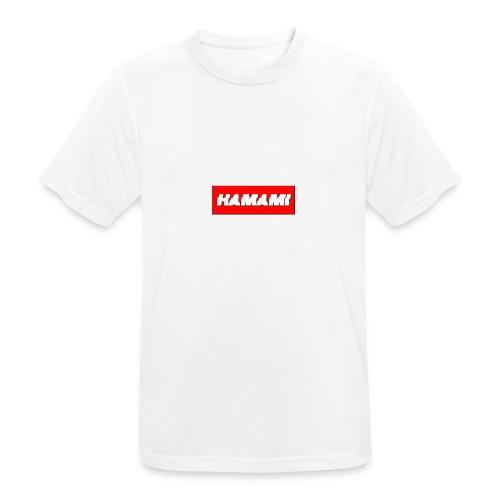 HAMAMI - Maglietta da uomo traspirante