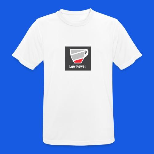 Low power need refill - Herre T-shirt svedtransporterende