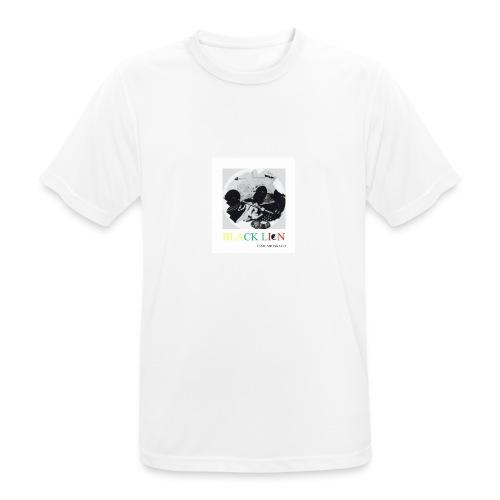 black lion - Andningsaktiv T-shirt herr