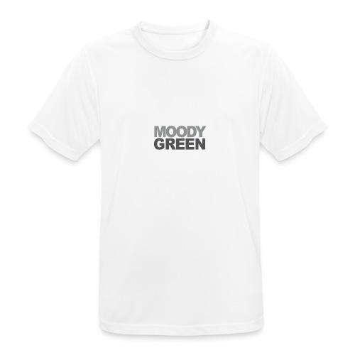Moody Green Shirt - Männer T-Shirt atmungsaktiv