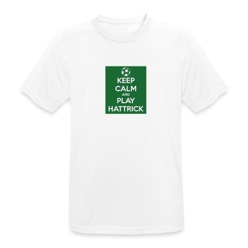 keep calm and play hattrick - Maglietta da uomo traspirante