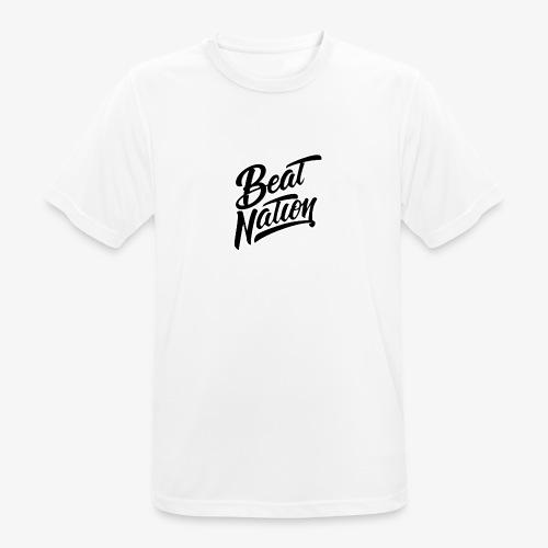Logo Officiel Beat Nation Noir - Männer T-Shirt atmungsaktiv