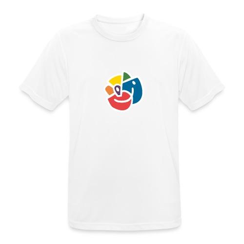Mångfaldsros - Andningsaktiv T-shirt herr