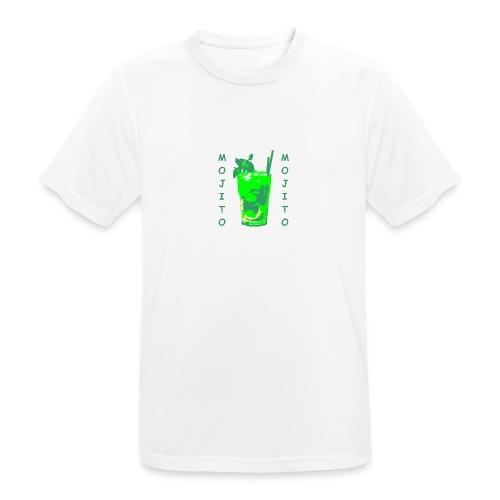 Mojito bicchiere colorato - Maglietta da uomo traspirante