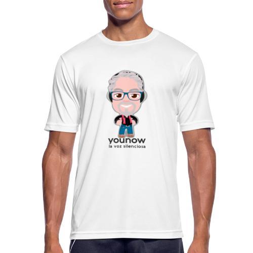 Younow - La voz silenciosa - Camiseta hombre transpirable