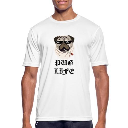 Pug Life - Herre T-shirt svedtransporterende