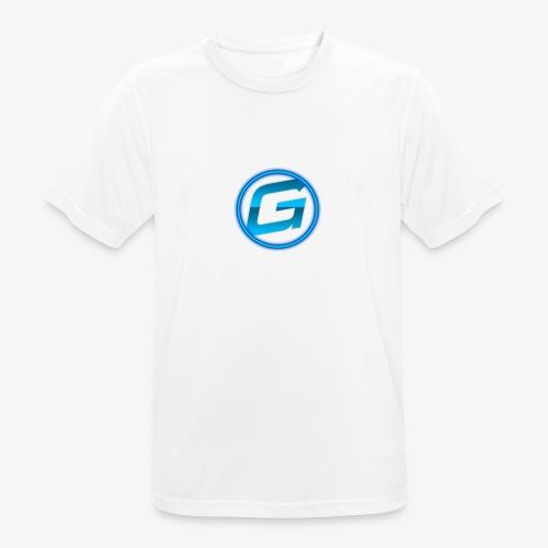 Logo klein - Mannen T-shirt ademend actief
