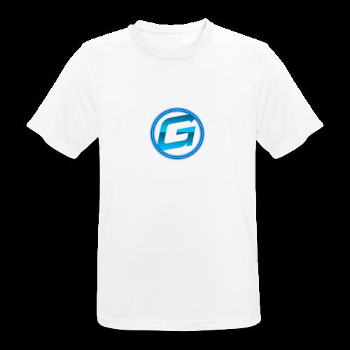 Logo klein - mannen T-shirt ademend