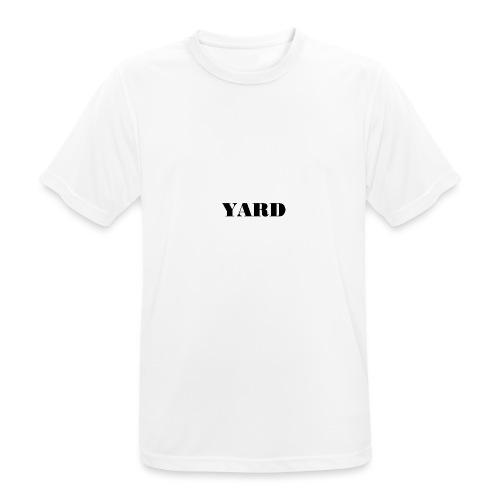 YARD basic - Mannen T-shirt ademend actief