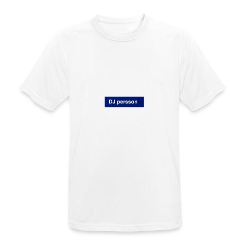 Dj persson - Andningsaktiv T-shirt herr