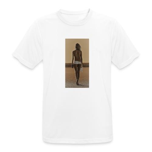 Hot Summer - Mannen T-shirt ademend actief