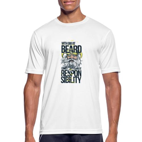 Beard - Andningsaktiv T-shirt herr