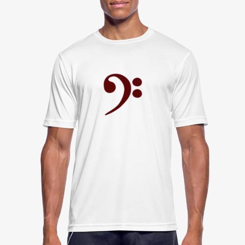 Bass-Key-4 - Männer T-Shirt atmungsaktiv