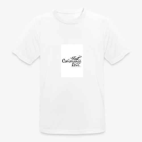 un reve - T-shirt respirant Homme