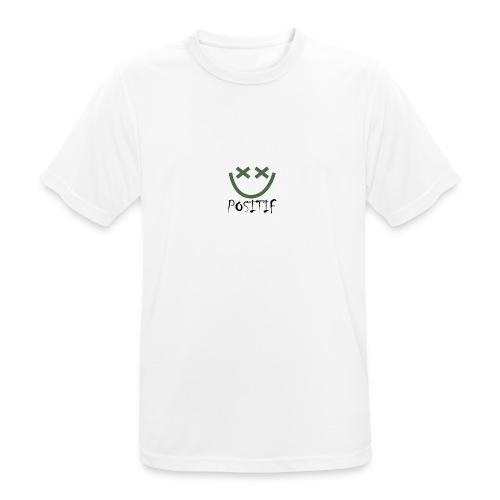 Positif Brand Basic - Camiseta hombre transpirable