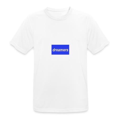 boxlogo - Maglietta da uomo traspirante