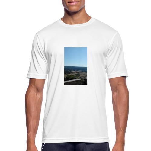 Panorama - Maglietta da uomo traspirante