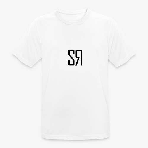 Black Badge (No Background) - Men's Breathable T-Shirt