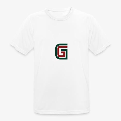 G logo - Maglietta da uomo traspirante