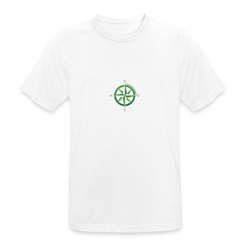 Team Bushcraft Kompass - Männer T-Shirt atmungsaktiv