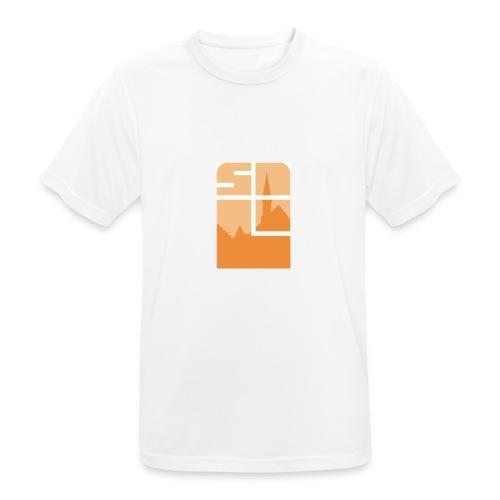 Logo-VZW-Sint-Lodewijk-jpg - Mannen T-shirt ademend actief