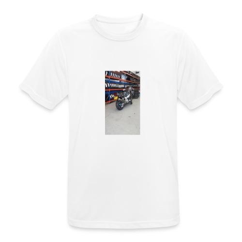 13528935_10208281459286757_3702525783891244117_n - Mannen T-shirt ademend