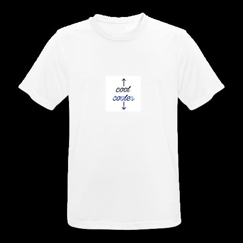 CoolCooler - Maglietta da uomo traspirante