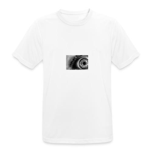 Crazy Eye - Männer T-Shirt atmungsaktiv