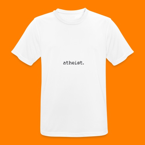 atheist BLACK - Men's Breathable T-Shirt