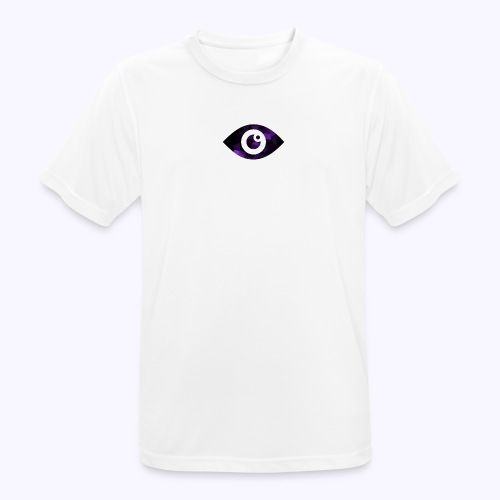Occhio del destino viola - Maglietta da uomo traspirante