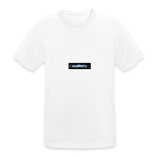 DerHardstyle.ch Kleines Logo - Männer T-Shirt atmungsaktiv