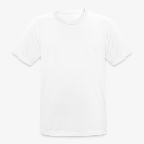 T Shirt Matteo 3 Weiss - Männer T-Shirt atmungsaktiv