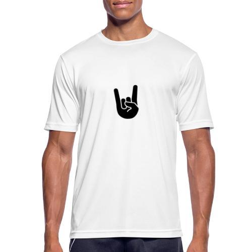 hand rock - Andningsaktiv T-shirt herr