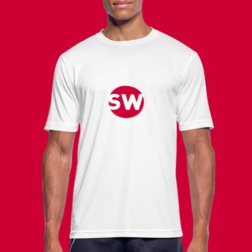 SchipholWatch - Mannen T-shirt ademend actief