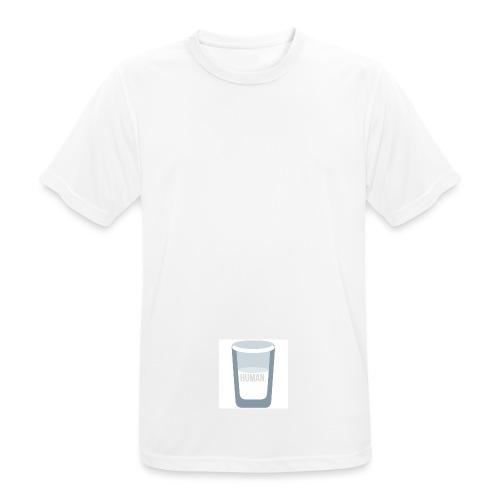 HUMAN milk - Maglietta da uomo traspirante