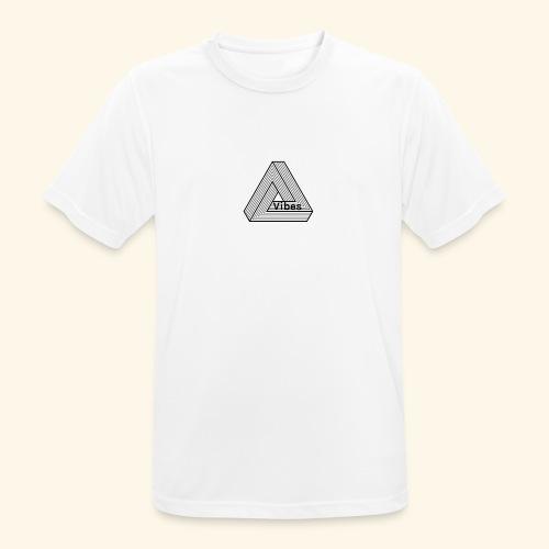 vibes - Männer T-Shirt atmungsaktiv