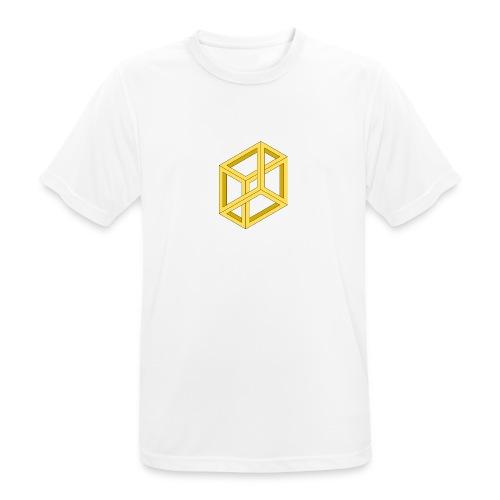 optical illusion - Männer T-Shirt atmungsaktiv