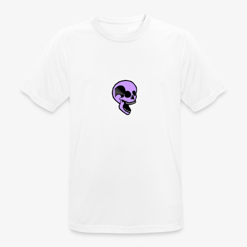 violet skull - T-shirt respirant Homme