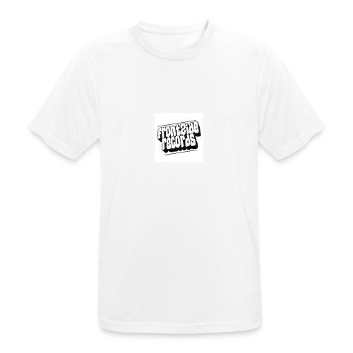 newfrontzidelogo - Herre T-shirt svedtransporterende